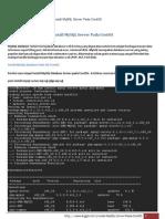 Install MySQL Server Pada CentOS