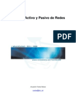 Analisis Activo y Pasivo de Redes