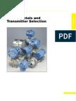 Pressure Fundamentals &Transmitter Selection