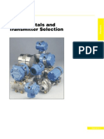 Pressure Fundamentals &Transmitter Selection