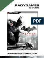 02 Batman Arkham City Official Strategy Guide