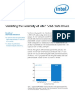 Intel It Validating Reliability of Intel Solid State Drives Brief