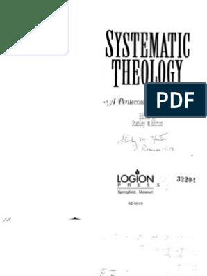 00055 Horton Systematic Theology Part 1 | Oneness Pentecostalism