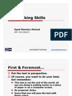 Test Taking Skills-MANCON