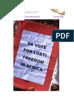 Pan Africa ILGA News Letter -May 16