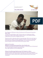 Pan Africa ILGA News Letter -May 21