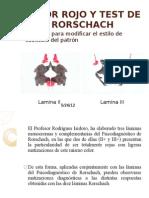 Color Rojo y Test de Rorschach