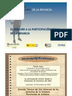 El Derecho a La Participacion Social de La Infancia (Ferran Casas)