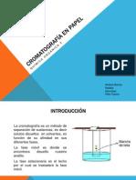 Cromatografia en Papel
