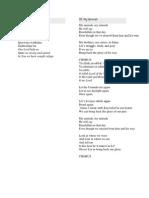 Sami Yusuf-My Ummah Lyrics