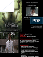 "Análisis Dr. Joseph Heiter - Película ""El ciempiés humano"" (The Human Centipede (First Sequence)"