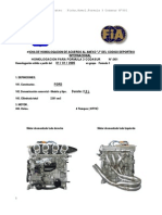 Ficha Homologacion Motor Duratec F35