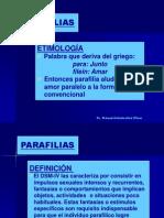 Definicion de Parafilias