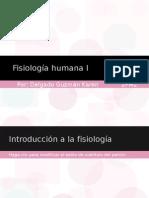 Fisiología humana I