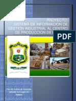 SISTEMA DE INFORMACION DE GESTION INDUSTRIAL AL CENTRO  DE PRODUCCION DE LA UNAS