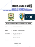 Metodologia de Desarrollo de Software Scrum