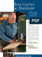 Band Saw Technique