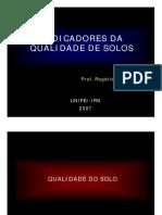 3 CEMARH 2007 Indicadores Da Qualidade Do Solo