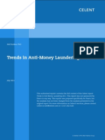 Celent AML Trends 2011 2013 Report