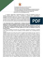 Ed 17 2011 CBM DF - CFP Condutor - Convocao 1