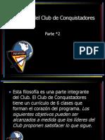 2_Objetivos Del Club de Conquistadores