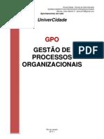 Gestão de Processos  2011.1 Completo