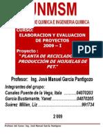 17600781 Proyecto Planta de Reciclado Botellas Pet