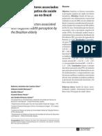 prevalência e fatores associados a percepçào negativa de saúde em idosas_Silva et al 2012