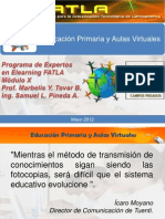 Educacion Primaria y AulasVirtuales