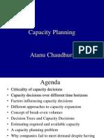 Capacity Planning OM