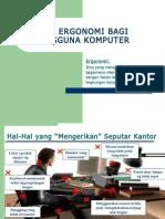 Tip Ergonomi Komputer