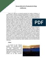 Plan de Desarrollo de la Península de Baja California