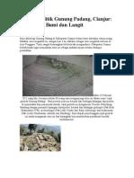Situs Megalitik Gunung Padang Cianjur