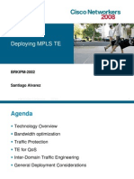 Deplaying MPLS Traffic Engineering