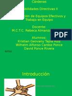 Unidad 4-Formacion de Equipos de Trabajo y Trabajo en Equipo