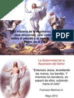 La Ascension de Jesus