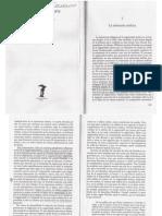 Christoph Menke (1997) La soberanía del arte, la experiencia estética en Adorno y Derrida, Madrid, Visor, págs. 189-248.