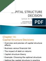 Ch_14_Capital Structure Decision Part 1