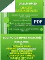 Exp. de Proyecto de Investigacion