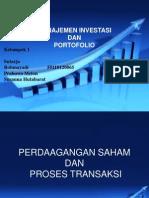 Introduction Por to Folio & Invesment Management