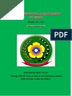 Buku Pedoman Kerja DPM FK Unsri Periode 2011/2012