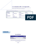 Edexcel Price List 2010 Fees V08 2