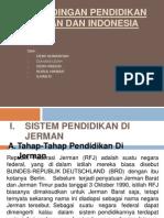 Per Banding An Pendidikan Di Indonesia & Jerman