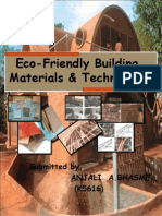 Eco-frendly Materials and Techniqes
