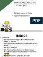 Proceso de obtención del hierro
