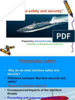 Maritime Safty and Security