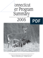 2005 Deer Program Summary