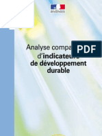Analyse Comparative d'Indicateurs de Développement Durable