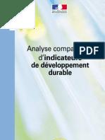 Analyse Comparative d'Indicateurs de Développement Durable