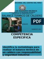 15. Balance Termico de Caldero